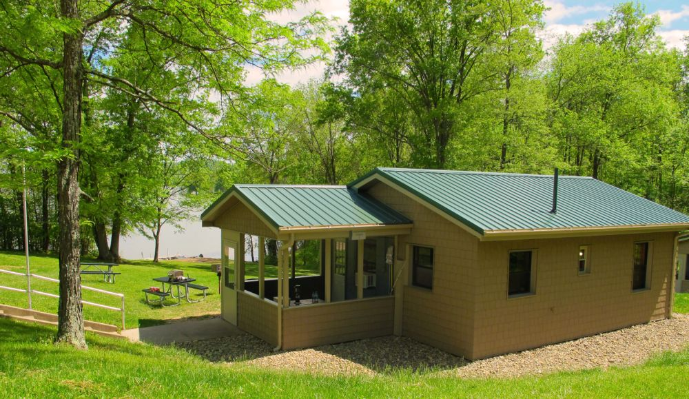 Seneca Lake Park's Cabins Receive $83,500 in Renovations in the Off-Season